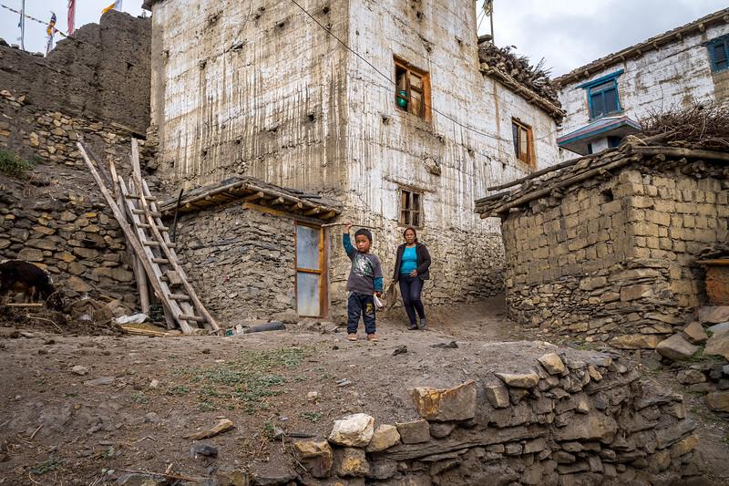 Jharkot Village, Mustang, Federal Democratic Republic of Nepal