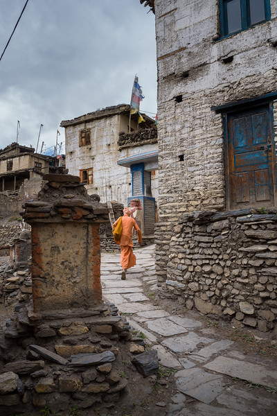 Jharkot Village, Mustang, Federal Democratic Republic of Nepal