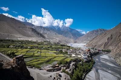 Kagbeni Village, Upper Mustang, Federal Democratic Republic of Nepal