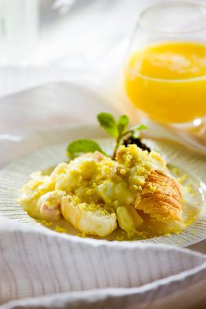 Ham & Eggs al la Mustard Golden Rod