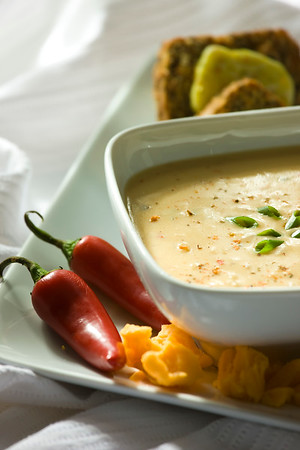 Cheddar & Ale Soup