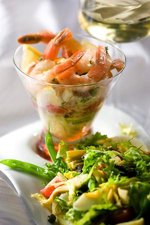 Dijon-Vinaigrette Shrimp Cocktail