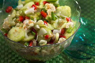 Mardi Gras Picnic Salad
