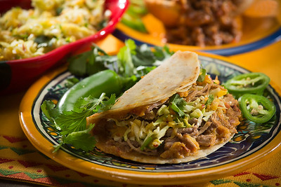 Pork 'Tamale' Tacos with Cabbage Slaw