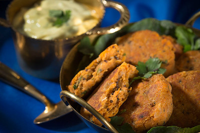 Chickpea & Sweet Potato Patties