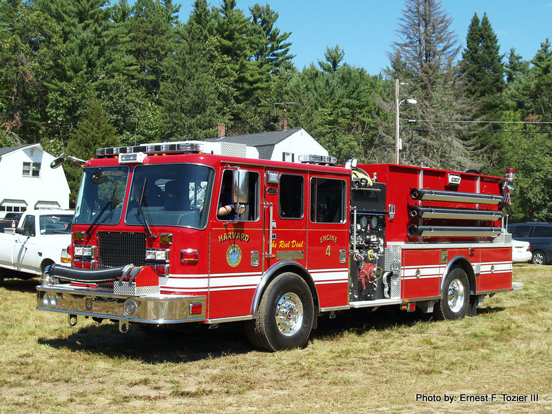 Harvard Engine 4 - 2012 KME Severe Service 1500/1000 3300' of LDH