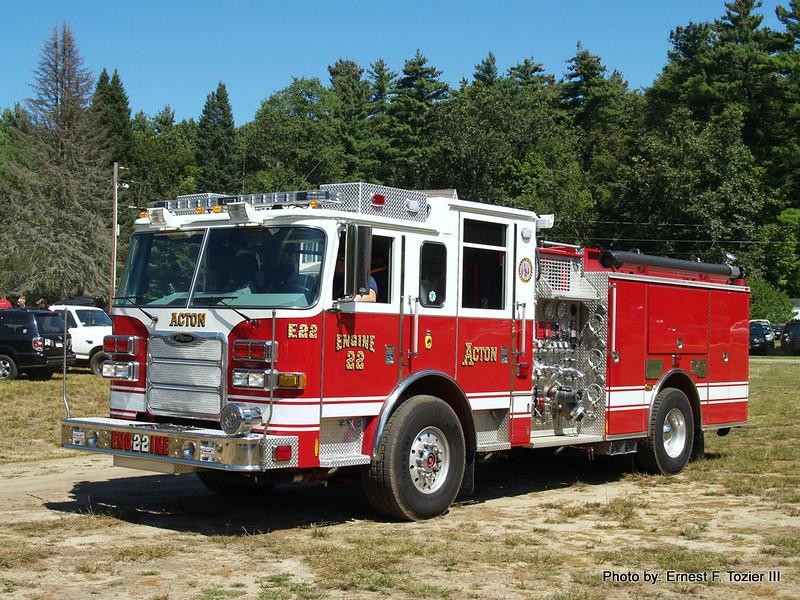 Acton Engine 22 - 2010 Pierce Arrow XT 1500/750/30F