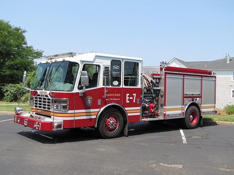 Hartford, CT Engine 7 - 2005 Ferrara 1500/500/50F