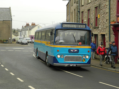 WJC Coaches AEC RELIANCE ex RTITB .The only 12mtr y-type built on the AEC Chassis