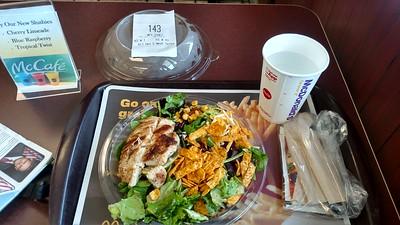 And, Kathi, I swear I ordered salad ... OK, at McD's ;-)