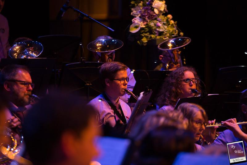 7-4-2018   55 jarig bestaan Harmonie Eendracht met Karin Bloemen   Door Wilco Steenveld #Bywilco