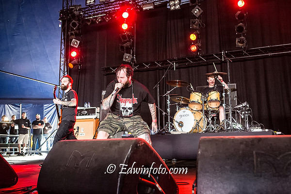 The Acacia Strain @ GroezRock 2015