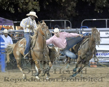 2017 Steer Wrestling Sunday 9/3/2017
