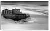 313. De Long pier in Black and White....................