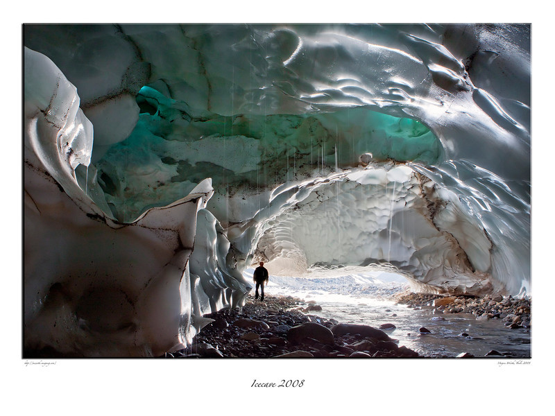 294. Two months after the picure was taken the Icecave collapsed...................