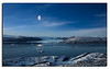 200. View from BMEWS radar mountain towards Knud Rasmussen Glacier. 29th September 2010.