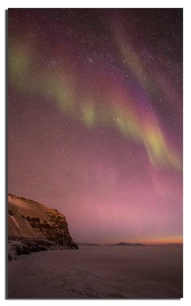 499. Not Tromsø...........but with the help of a modern Camera: Aurora, a bit faint, but still.