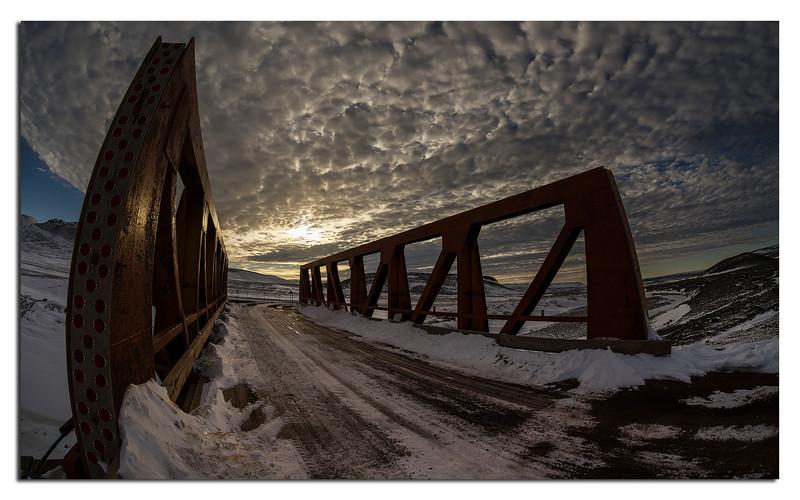 619. Lake Crescent Bridge late September........