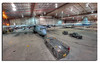220. Two Lockheed Martin's in Hangar 8. HDR.