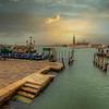 Gondola Dock, Venice Italy