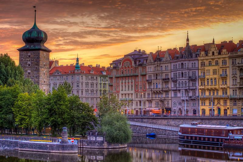 Prague Sunset, Czech Republic