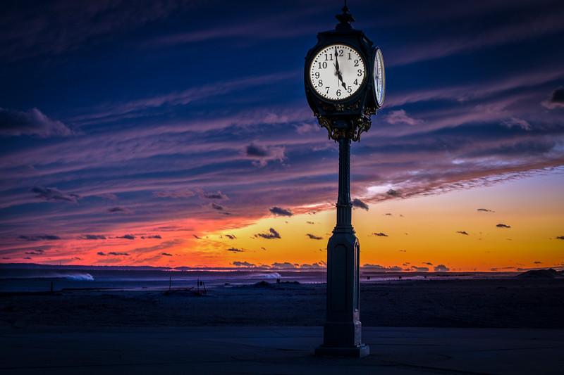 Sunrise 4:59 , Rockaway Beach
