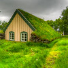 Turf Covered Church, South Iceland