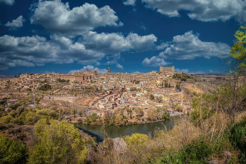 Clouds Over Toledo Spain