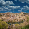 Clouds Over Toledo Spain