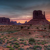 Sunrise At West Mitten, Monument Valley