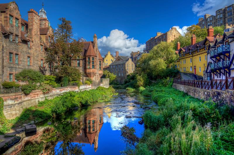 Dean Village, Edinburgh Scotland