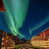 Northern Lights At Hotel, Lofoten Norway