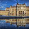 Parliment Reflection, Budapest Hungary