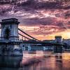 Szechenyi Chain Bridge, Budapest Hungary