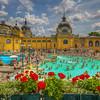 Szecjenyi Thermal Bath, Budapest Hungary