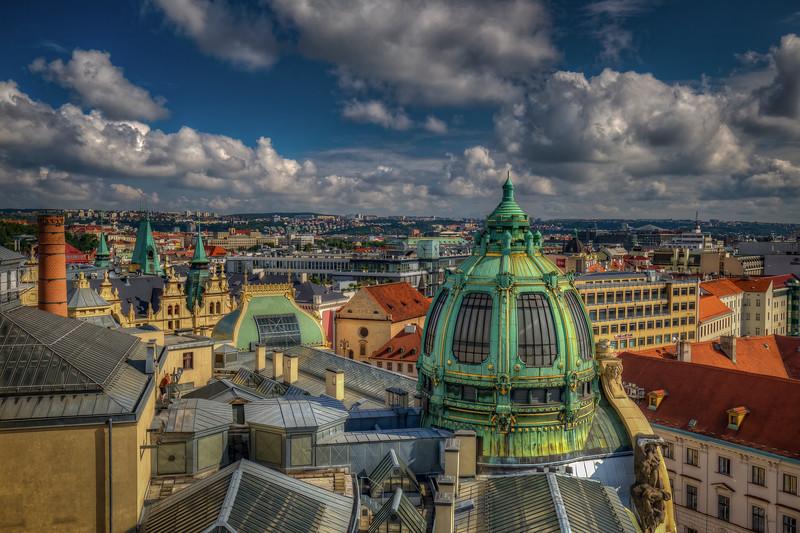 Prague Rooftops, Czech Republic