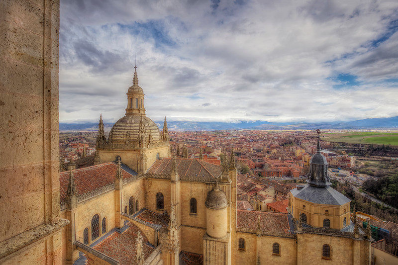 View From Segovia Castle,  Segovia Spain