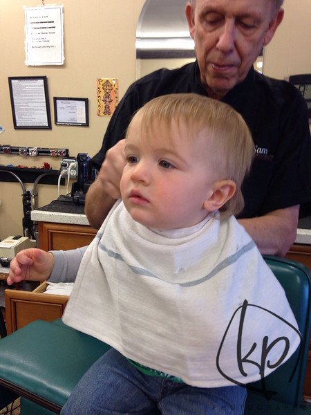 1st hair cut