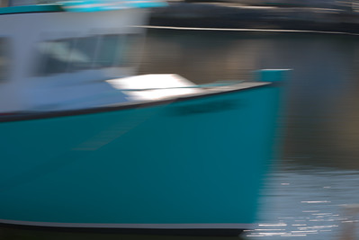 Torquoise Boat