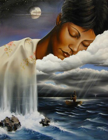 """Title: """"At Her Mercy"""" Oil on Canvas 18""""x24"""""""