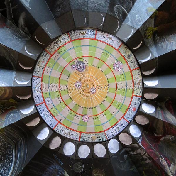 Kalender Copernicus (Heliocentrisme) - Maanfases