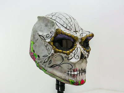 Sugar Skull Mask (unfinished)