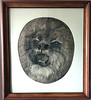 Charcoal Drawing of Lion's Head - 1957