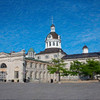 A shot of Kingston City Hall from Market Square