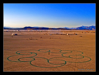 'Curls' at Burning Man