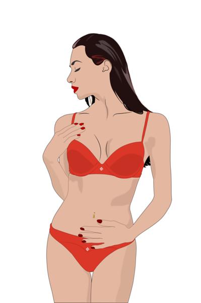 Red Bikini Profile