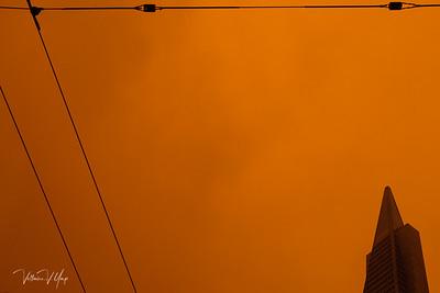 Transamerica in Yellowish Skies