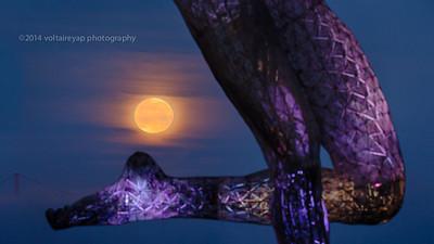 Full Moon Over Bliss Dance HDR