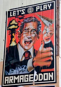 anti-Bush poster