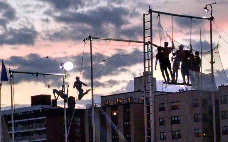 Trapeze Artists in Long Beach 2